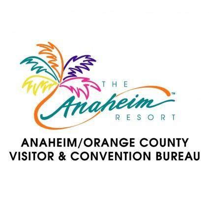 free vector Anaheim visitor bureu