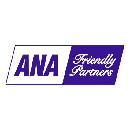 free vector Ana friendly partners