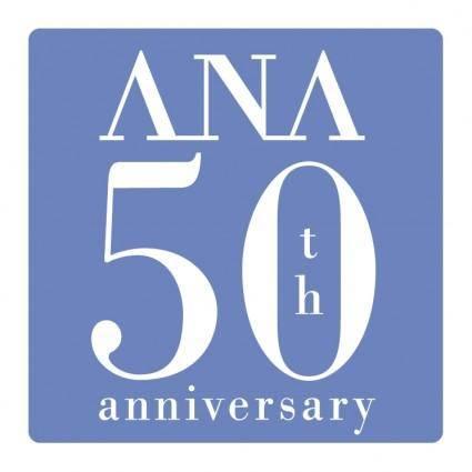 Ana 50th anniversary