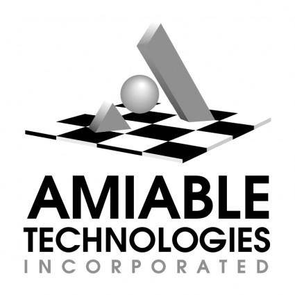 free vector Amiable technologies