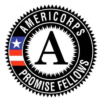 free vector Americorps promise fellows