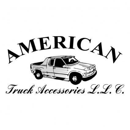 free vector American truck accessories