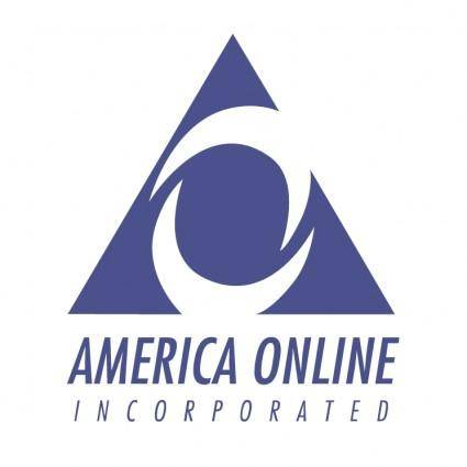 free vector America online incorporated 0