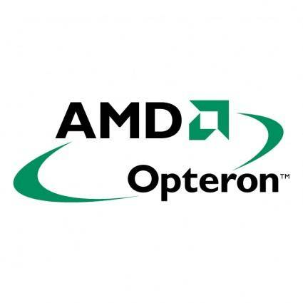 free vector Amd opteron 0