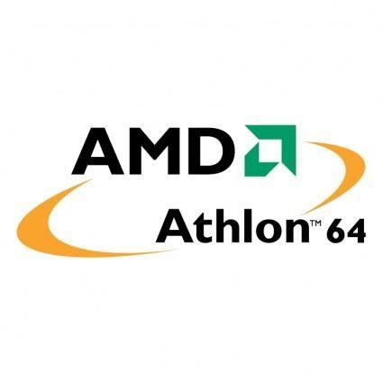 free vector Amd athlon 64 processor