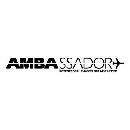 free vector Ambassador