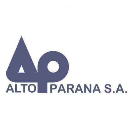 free vector Alto parana