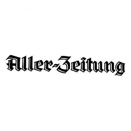 free vector Aller zeitung