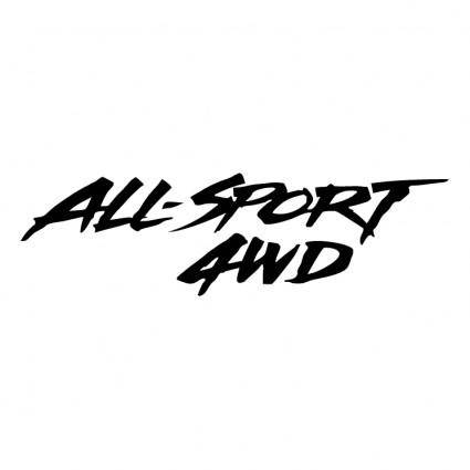 All sport 4wd