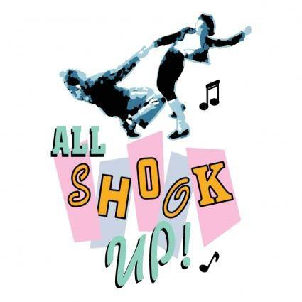 free vector All shook up