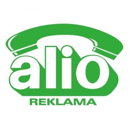 free vector Alio reklama