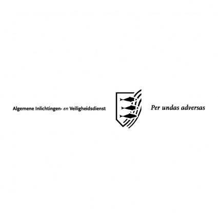 free vector Algemene inlichtingen en veiligheidsdienst