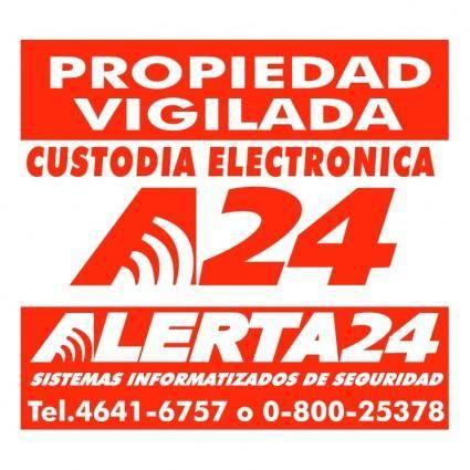 free vector Alerta24