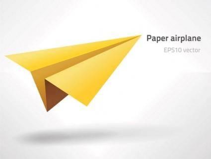 free vector Paper airplane vector