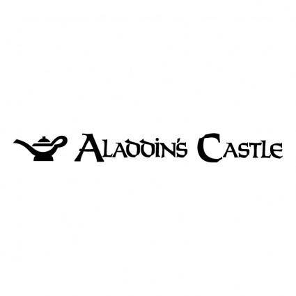 free vector Aladdins castle