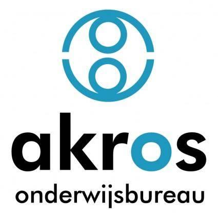 free vector Akros onderwijsbureau
