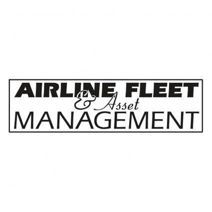 Airline fleet asset management