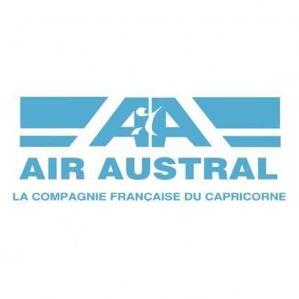 free vector Air austral