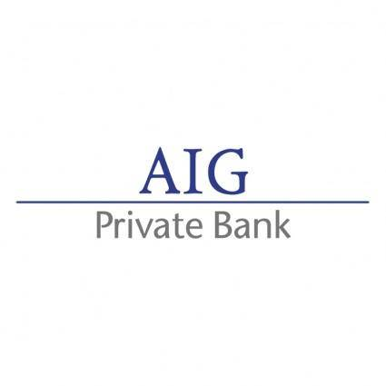 free vector Aig private bank