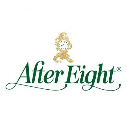 free vector After eight 0