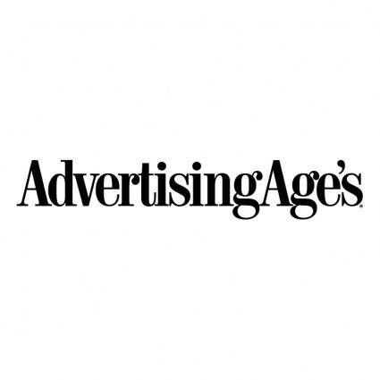 Advertising ages