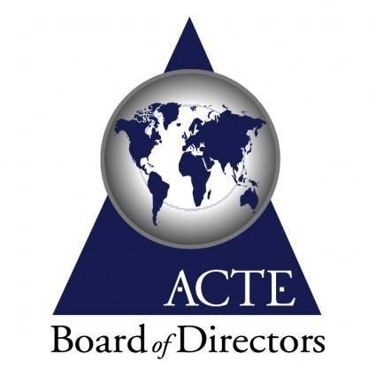 free vector Acte board of directors