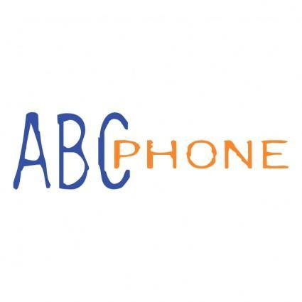 free vector Abc phone