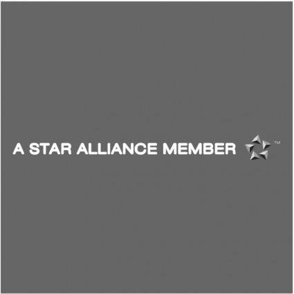 free vector A star alliance member