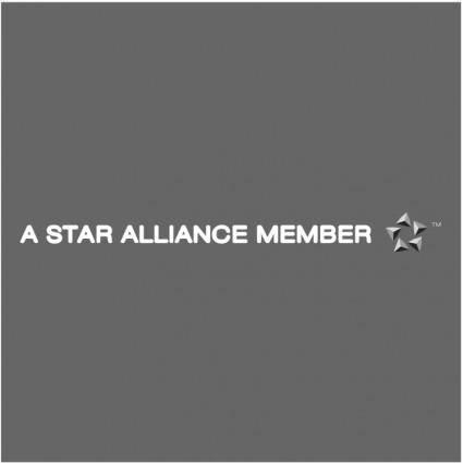 A star alliance member