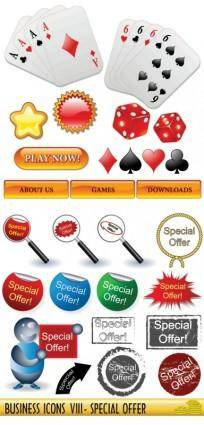 free vector Poker dice a magnifying glass vector
