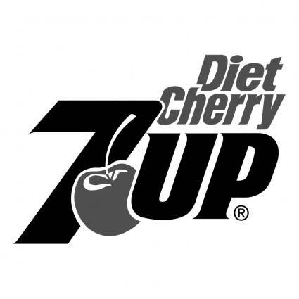 free vector 7up diet cherry