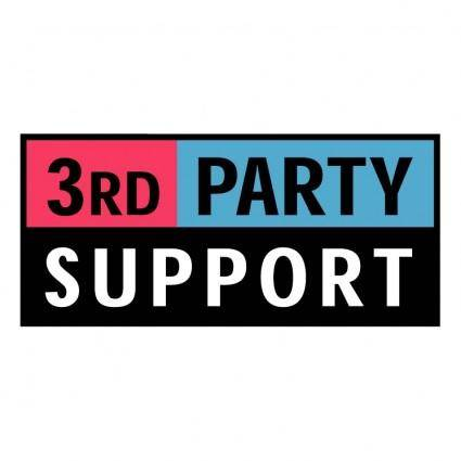 3rd party support