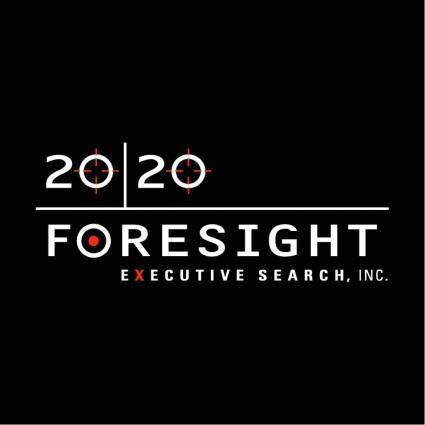 free vector 2020 foresight executive search 0