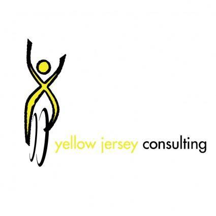 free vector Yellow jersey consulting