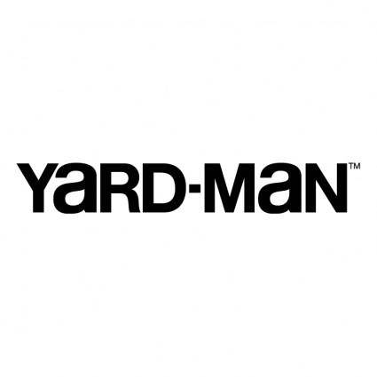 free vector Yard man