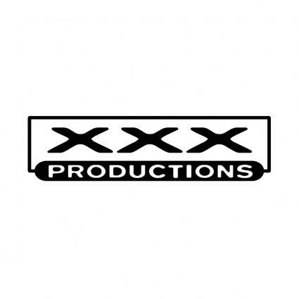 free vector Xxx productions