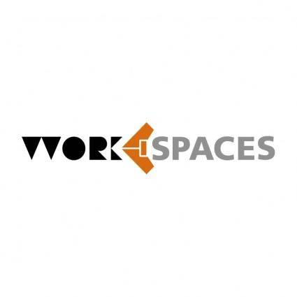 free vector Work spaces