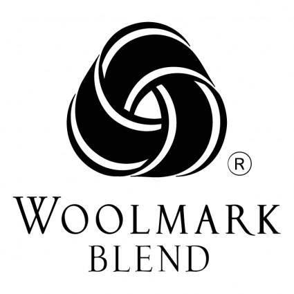 free vector Woolmark blend