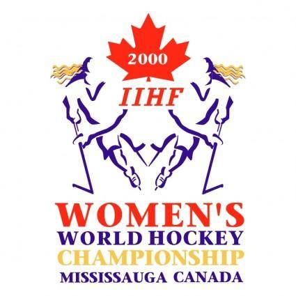 Womens world hockey championship 2000