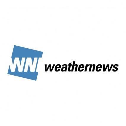 free vector Wni weathernews