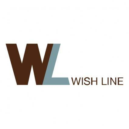 free vector Wish line