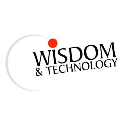 Wisdom and technology