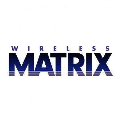 free vector Wireless matrix