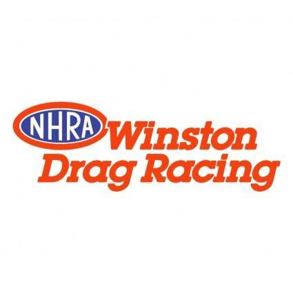 free vector Winston drag racing