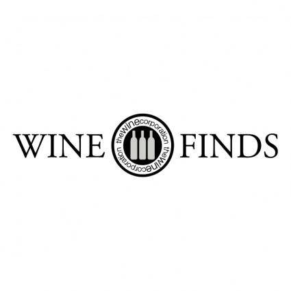 free vector Wine finds