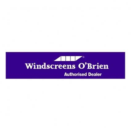 Windscreens obrien 0