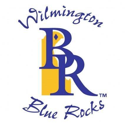 free vector Wilmington blue rocks