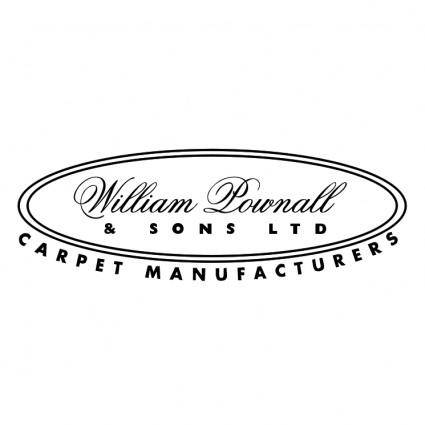 free vector William pownall sons