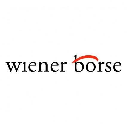 free vector Wiener boerse
