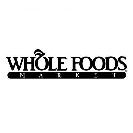 free vector Whole foods market 0